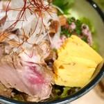 寿司の磯松 - 鮪ホホ肉ステーキ丼