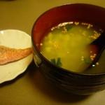 ころぽっくる - 紅鮭塩びき冷し緑茶漬