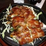 鉄板焼くわちゃん - トンペイチーズ焼き
