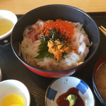 かねまつ - 料理写真:特丼 [大] =¥1200