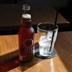 ひつじcafe - 黒ビール