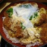 松屋そば店 - 玉子かつ丼
