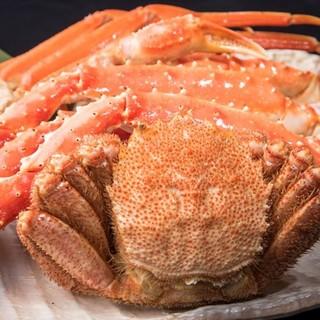 リーズナブルに北海道の蟹を愉しむ!