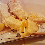 日向食堂 ゆるり - かぼちゃとクリームチーズのはさみ揚げ