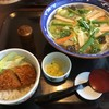 むぎの里 - 料理写真:ちゃんぽんうどんセット