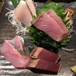石田屋 - 料理写真:刺身盛りは700円也