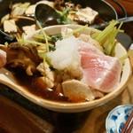 横家 - 舞茸とマグロのすき焼き