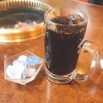 韓の家 - アイスコーヒー(ランチセット内)【平成29年03月28日撮影】