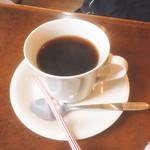 韓の家 - ホットコーヒー(ランチセット内)【平成29年03月28日撮影】