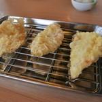揚げたて天ぷら やぐら - 鶏天(3個)250円
