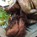 鳥駒 - 2017年3月下旬 鶏の丸焼き カリカリに揚がってます。