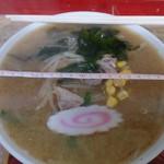 登龍門 - 料理写真:味噌ラーメン750円