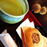 鎌田茶業 - 料理写真:抹茶セット