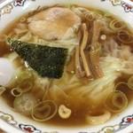 春木屋 - ワンタン麺税込1250円