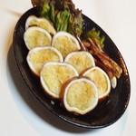 磯っ子 - イカ飯焼き