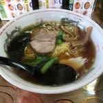 福満源 - 料理写真:醤油ラーメン