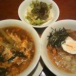 6462653 - カルビクッパ+冷麺(990円)