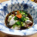 すし栄 - 牡蠣