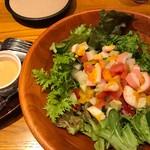 山本のハンバーグ - 彩り野菜のコブサラダ980円