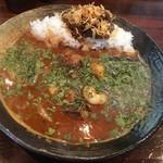 Karenotoriko - サバ味噌あいがけ+海老