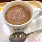 ドトールコーヒーショップ - 朝ご飯にトースト(190円)とブレンドコーヒー(S/220円)♪