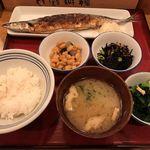 かっぽうぎ - お昼の四品定食