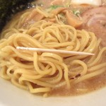 麺屋 大申 - 両方太麺、太さ