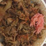 すき家 - 牛丼特盛
