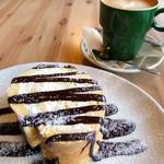 フランネル スタイル コーヒー - トッピングはなしがおススメです(^^;)