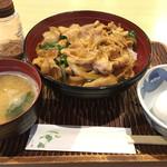 北池袋 長寿庵 - スタ丼(600円)みそ味