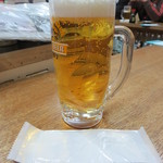 大衆酒場 増やま - 生ビール 300円