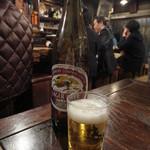 鍵屋 - ビール(大) 710円