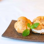 Gluten Free Dining Tsukuru - 米粉生地のシューアイス