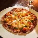 クゥー・ドゥ・ヴァン - 野菜ピザ