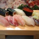 瓢寿司  - ランチの握り