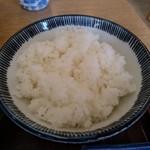 すかや - 【2017.3.30(木)】らーめんセット(並盛)780円のご飯