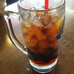 カフェドムッシュ - ムッシュセットのドリンク、コーラ