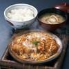 熱々かつ鍋定食(ロースかつ鍋)
