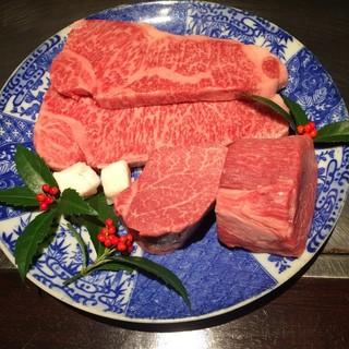 兵庫県産黒毛和牛の「ステーキ」
