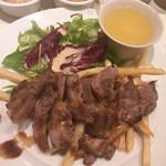 パリ21区 - イベリコ豚のステーキ(¥1290)
