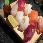 回転寿司 魚浜 - ネタ、新鮮です