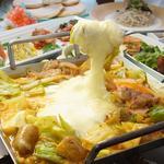 dammi - 料理写真:4月1日~話題のチーズタッカルビが新登場♪