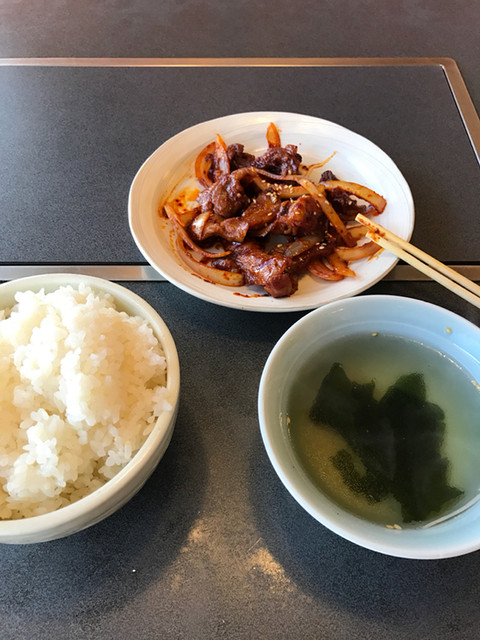 ランチ 焼肉 慶山 馬込沢