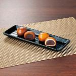天ぷら新宿つな八 - 新宿中村屋さんとコラボ《新宿揚げ饅頭》