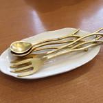 カフェ アジャーラー - 食器が可愛い