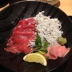 近畿大学水産研究所 - 近大マ近大マグロと和歌山産しらすの紀州丼
