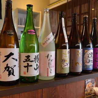 長崎壱岐の食材を使用した料理と焼酎と日本酒♪