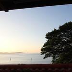 阿波郷土料理 彩 - テラスからの眺望