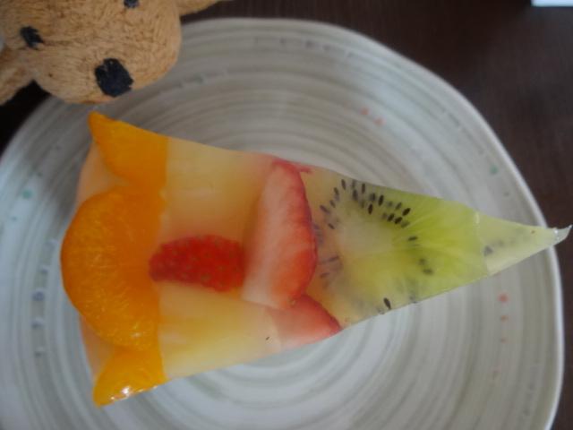 シルバード洋菓子店 - フルーツトルテ