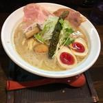 麺69 チキンヒーロー - 鶏極濃 味玉プラス